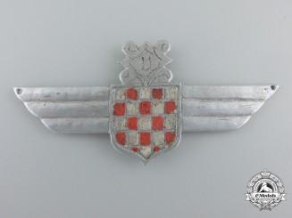 A Field Made Second War Croatian Legion Badge/Wing