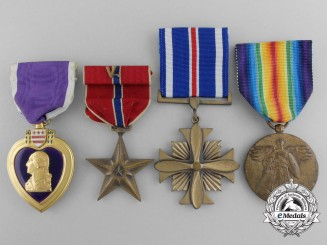 Four American Medals and Awards