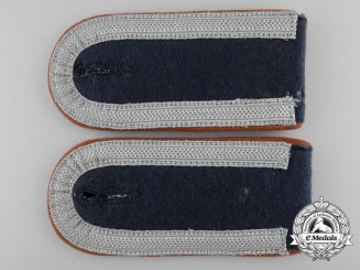 A Set of Air Communications Corps Unteroffizer Shoulder Boards