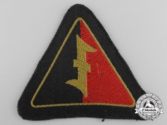 A Dutch SS Cloth Arm Insignia