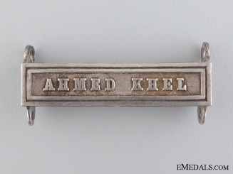 A Ahmed Khel Clasp for the Afghanistan Medal 1878-1880