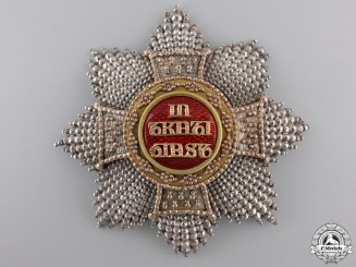 A Bavarian House & Knightly Order of St. Hubert; Grand Cross c.1835