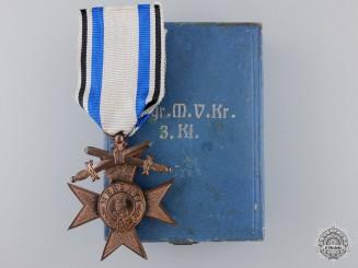A Bavarian Military Merit Cross; 3rd Class by Weis & Co.