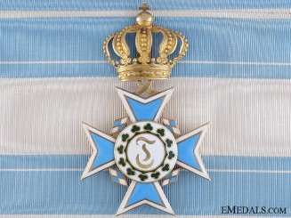 A Bavarian Order of Theresa in Gold