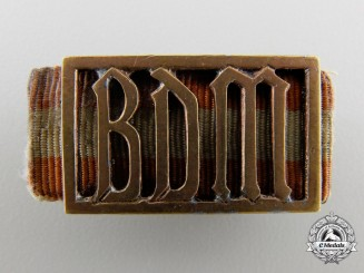 A BDM Membership Badge; RZM Marked