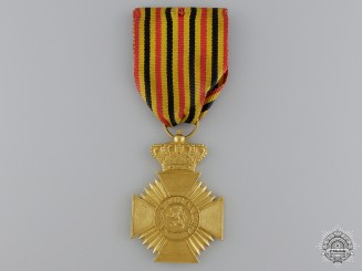 A Belgian Military Decoration, Type III 1919-1934