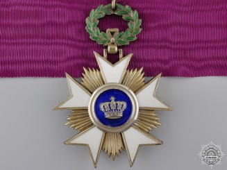 A Belgian Order of the Crown; Commander's