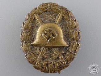 A Black Grade Condor Legion Wound Badge