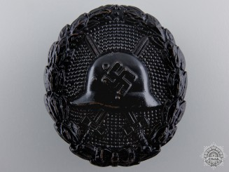 A Black Grade Wound Badge; Condor Legion