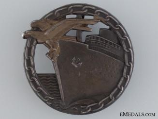 A Blockade Runner Badge by Schwerin, Berlin
