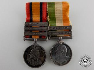 A Boer War Miniature Pairing