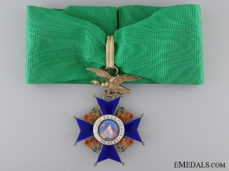 A Bolivian National Order of the Condor of the Andes; Commander