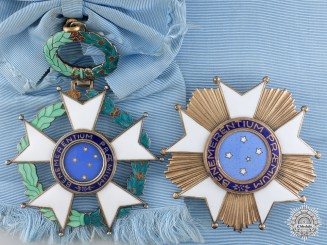 Brazil. An Imperial Order of the Southern Cross, Grand Cross Set