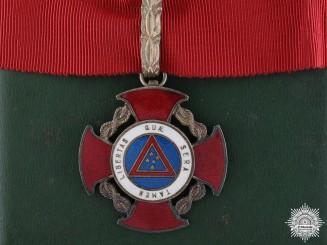 A Brazilian Inconfidencias Medal; Third Class