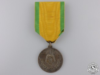 Brazil, Republic. A Navy N E Duke of Caxias Tour Medal, c.1954