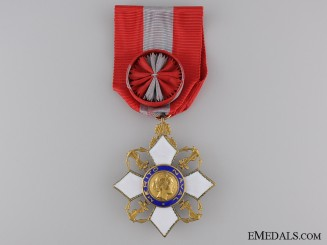 A Brazilian Order of Naval Merit; Officer