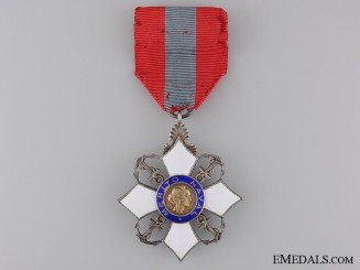 A Brazilian Order of Naval Merit; Chevalier