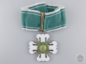A Brazilian Order of Military Merit; Commander's