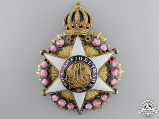 A Brazilian Order of the Rose; Breast Star