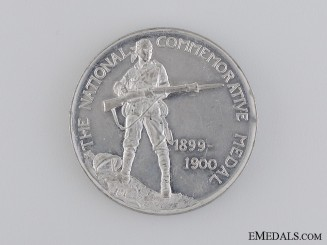 A British 1899-1900 Transvaal War (Boer War) National Commemorative Medal