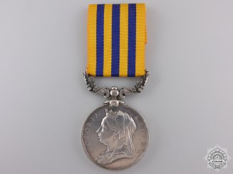 A British South Africa Company Medal to Lieutenant Quartermaster