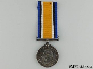 A British War Medal to the 92nd Canadian Infantry CEF