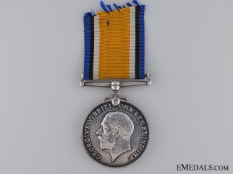 A British War Medal to the Royal Fusiliers; Somme KIA