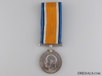 A British War Medal to the Royal Navy Canadian Volunteer Reserve