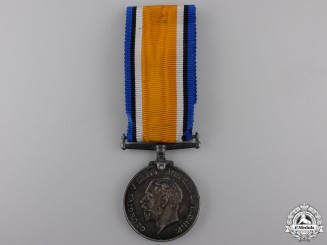 A British War Medal to the Devon Regiment
