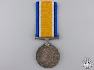 A British War Medal to Captain Baines