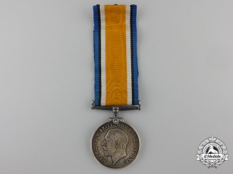 A British War Medal to Officier C. Spicer