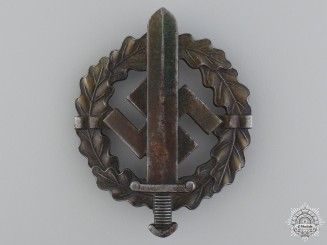 A Bronze Grade SA Sports Badge by Sieper & sohn