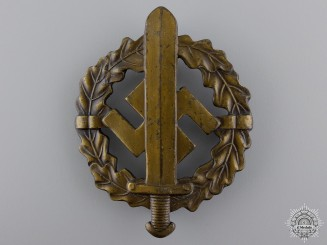 A Bronze Grade Sports Badge by Fechler