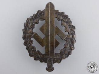 A Bronze Grade Sports Badge by Karl Hensler