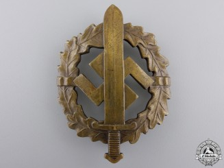 A Bronze Grade Sports Badge by Bonner Kunstabz