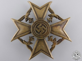 A Bronze Grade Spanish Cross by Junker