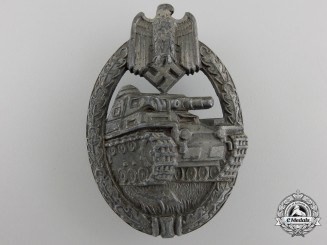 A Bronze Grade Tank Assault Badge by Karl Wurster