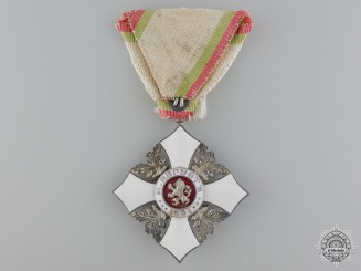 A Bulgarian Civil Merit Order; 5th Class Knight