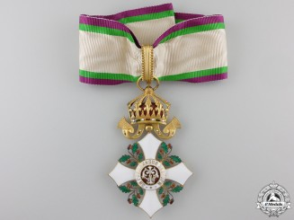 Bulgaria, Kingdom. A Civil Merit Order, III Class Commander, c.1920