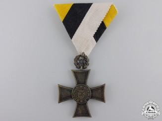 Bulgaria, Kingdom. A Long Service Cross, 20 Year