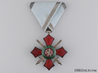 A Bulgarian Order of Military Merit; Fifth Class Cross