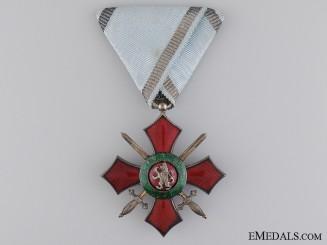 A Bulgarian Order of Military Merit; Fifth Class Cross
