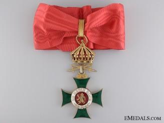 A Bulgarian Order of St. Alexander with Swords; Third Class