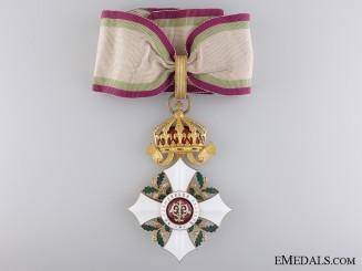 A Bulgarian Order of Civil Merit; Commander's Cross