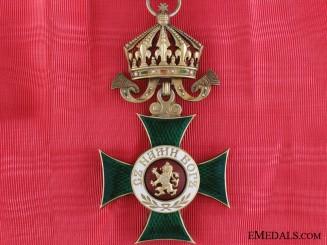 A Bulgarian Order of St. Alexander; German Made Commander