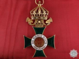 A Bulgarian Order of Alexander; 1st Class Grand Cross