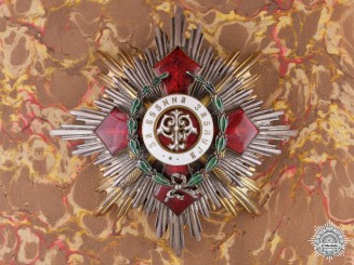 A Bulgarian Order of Military Merit; 1st Class Grand Cross