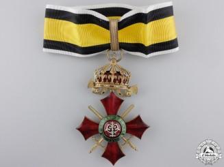 A Bulgarian Order of Military Merit; Commander's Cross