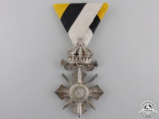 Bulgaria, Kingdom. An Order of Civil Merit, VI Class with Crown, c.1944