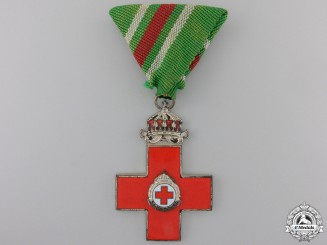 Bulgaria, Kingdom. A Red Cross Award of Merit, Second Class, c.1935